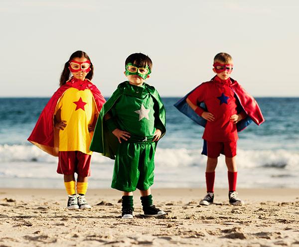enfant-superheros
